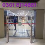Automatic Sliding Door Operator installed at CHEN ONE STORE, Gujranwala